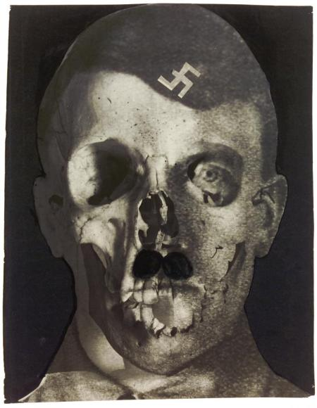 Erwin Blumenfeld, photomontage of Hitler